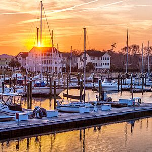 St James Plantation Marina, Southport, North Carolina Photo: Nick Noble