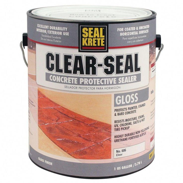 SealKrete 1 gal. Clear Seal Gloss Sealer