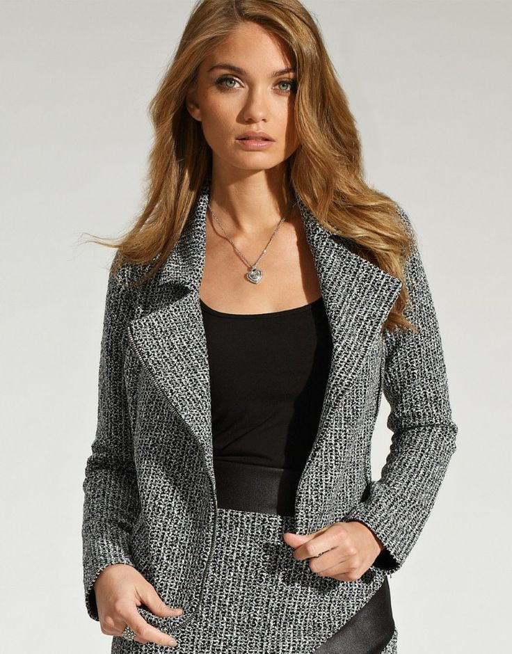 Lipsy Textured Biker Jacket