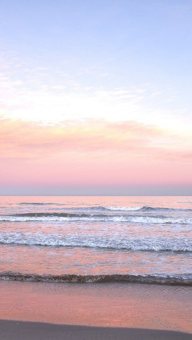 Pink Sunset iPhone wallpaper