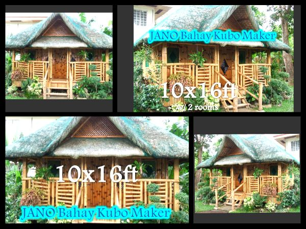 The Nipa Hut Also Known As Bahay Kubo Is A Traditionally Constructed House Used In Philippines It With Bamboo Tied T