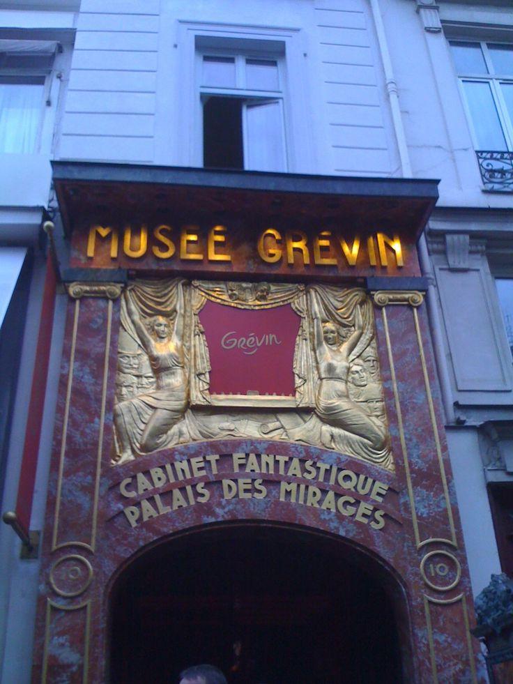 Visite au Musée Grévin du 12 septembre 2015.