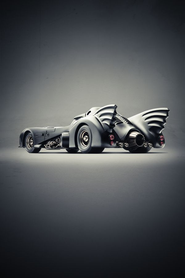 """Cars We Love"" Cihan Ünalan-depicting iconic cars from famous movies"