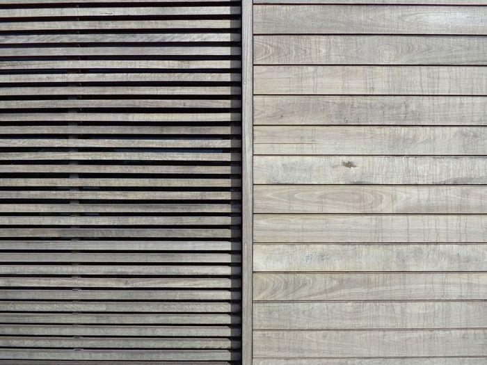 Grey timber decking