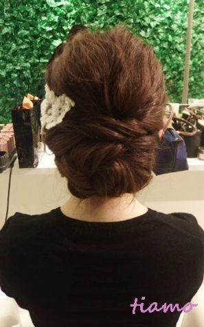 挙式から二次会まで♡緩可愛い3スタイル!リハ篇 |大人可愛いブライダルヘアメイク『tiamo』の結婚カタログ