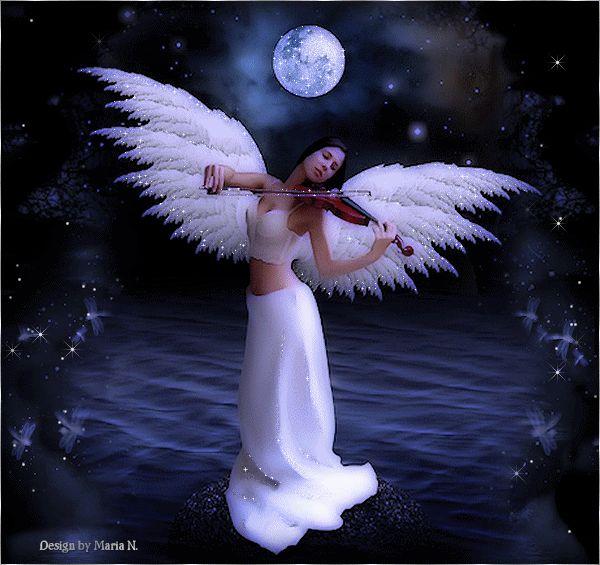 анимация с ангелами часто она появляется