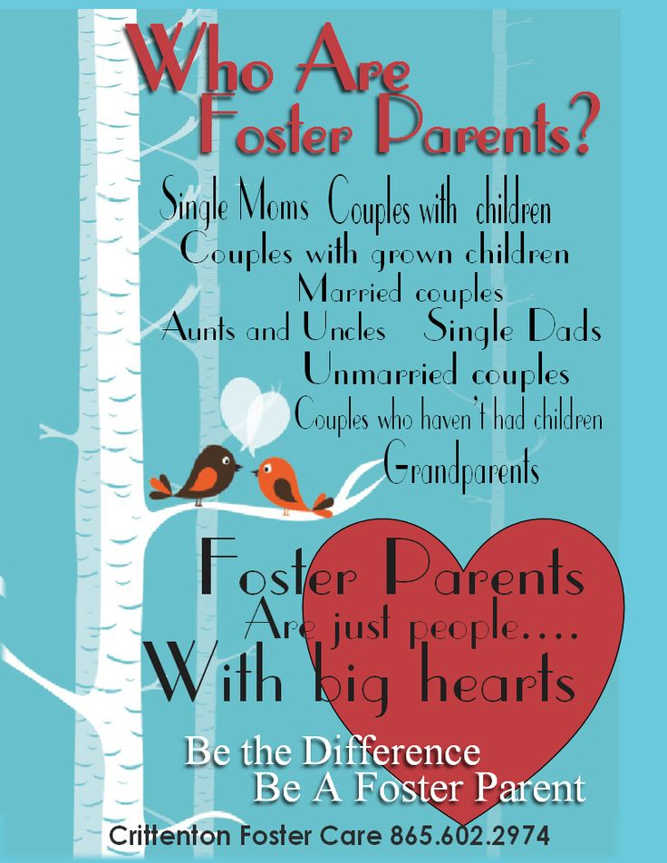 Who Are Foster Parents? Crittenton Foster Care Be the