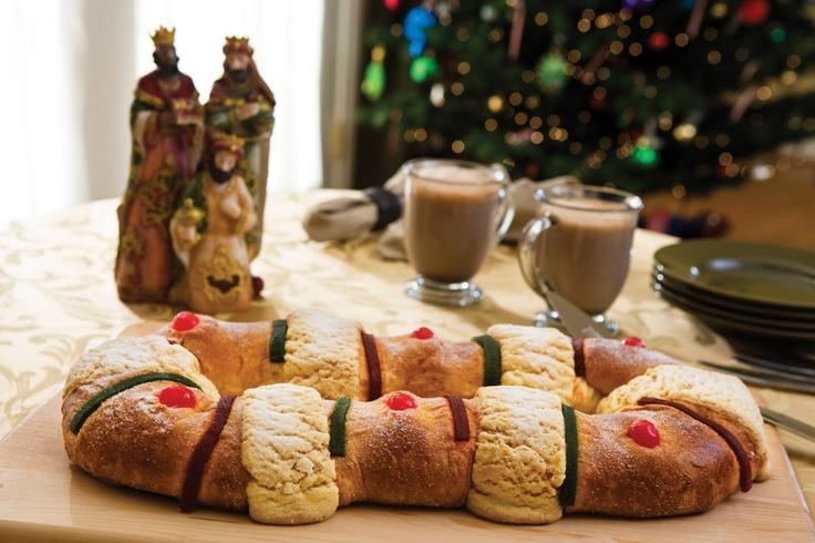 Mexico Culture And Traditions Epiphany bread, Rosca-Dia de los Magos