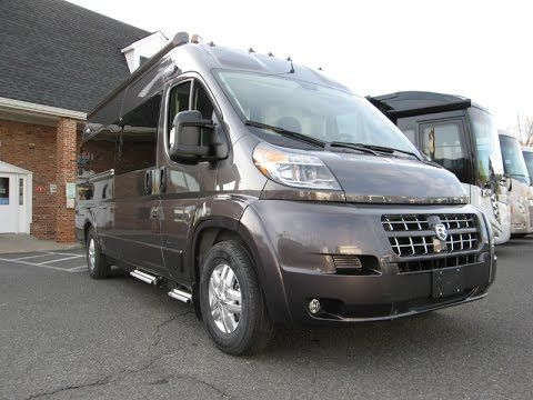 Walk Through 2015 Roadtrek Zion RAM Promaster RV Conversion Camper Van - YouTube