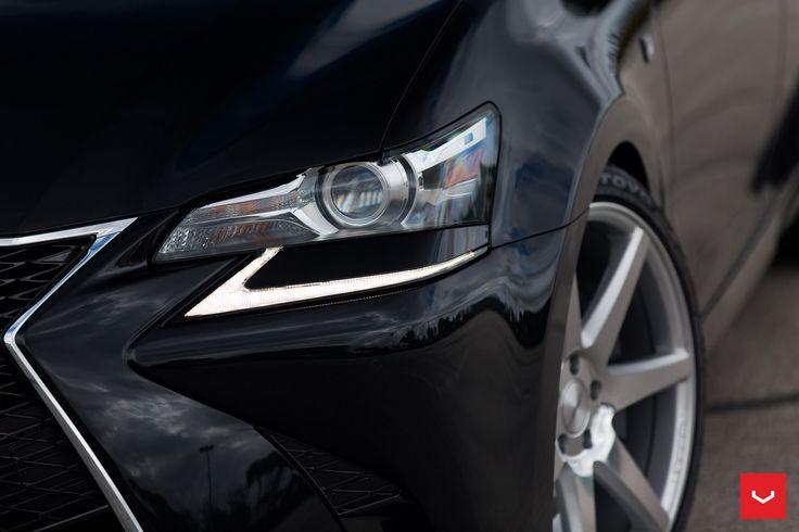 Lexus Is F Sport >> Lexus - GS-F Sport - CV7 - Silver Polished - © Vossen Wheels 2016 - 1064   Lexus   Pinterest ...