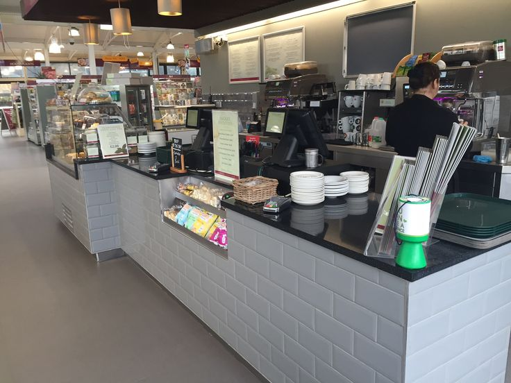 Squires Garden Centre, Long Ditton. Ifse Design and Build, Winter 2015/16 Ambient/Cashier section