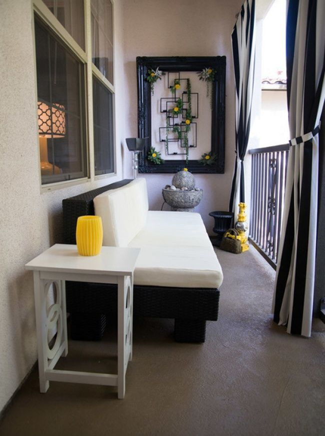 20 seriously creative design ideas for making a small balcony comfortable and stylish