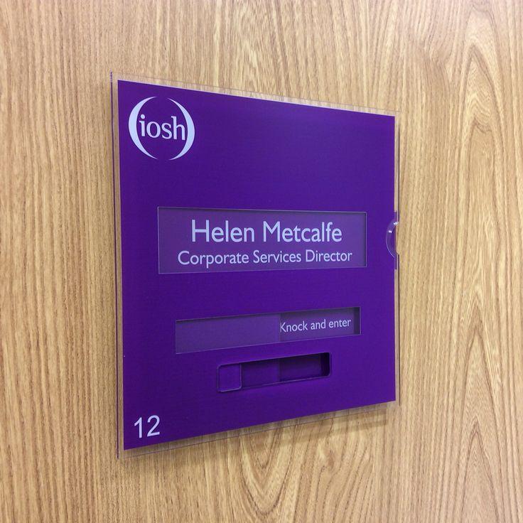 changeable door signs doctors nameplates medical sliding