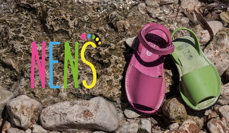 NENS SS17  NENS Menorquinas / NENS Menorcan sandals. These sandals embrace the tradition of the Mediterranean culture. This year they are more fashionable than ever, so add them to your summer look.