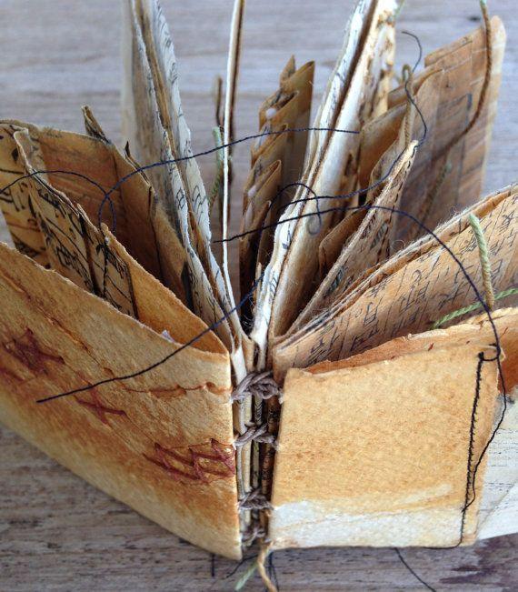 handmade artist book - landmarks 5