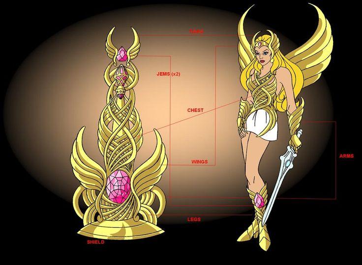 She-ra_Saint of crystal castle by FaGian on DeviantArt ...