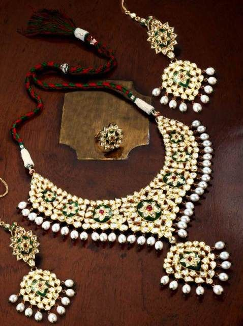 17 Best Images About Indian Kundan Jewellery Designs On