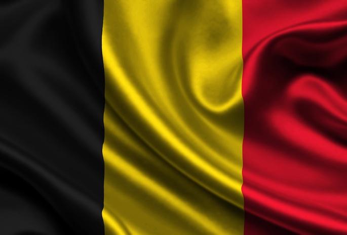 Belgium, Satin, Flag