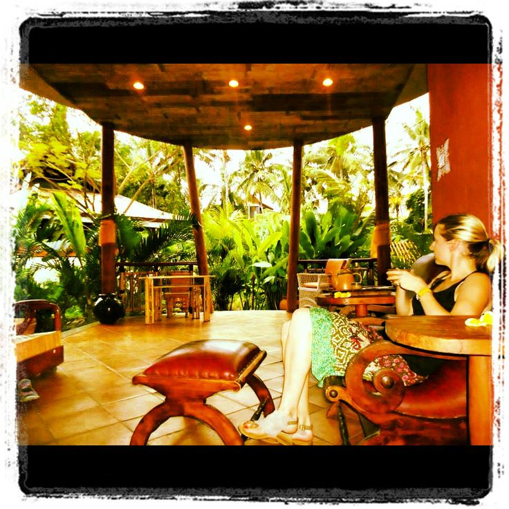 Another day. Another massage.  Seriously the beauty in Ubud is soothing to the soul. xx Carole