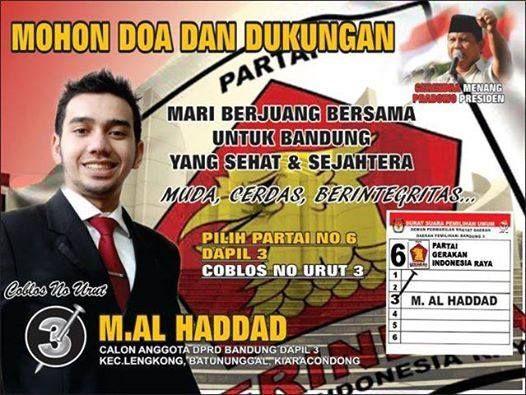 M AL Haddad Dari Melia Sehat Sejahtera Calon Anggota DPRD Bandung M AL Haddad Dari Melia Sehat Sejahtera Calon Anggota DPRD Bandung