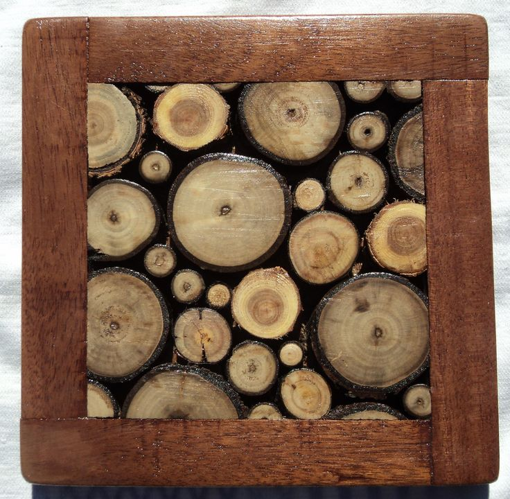 wood slice trivet and coasters could even make a table top things to try diy and crafty. Black Bedroom Furniture Sets. Home Design Ideas