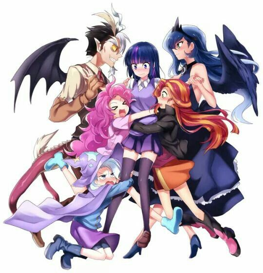 Anime\(〇_o)/or my little pony Anime \(〇_o)/