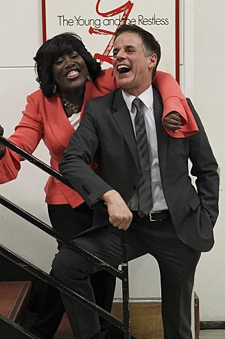 Sheryl Underwood  & Christian LeBlanc