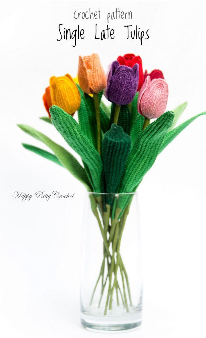 213 besten Happy Patty Crochet Bilder auf Pinterest | Blumen häkeln ...