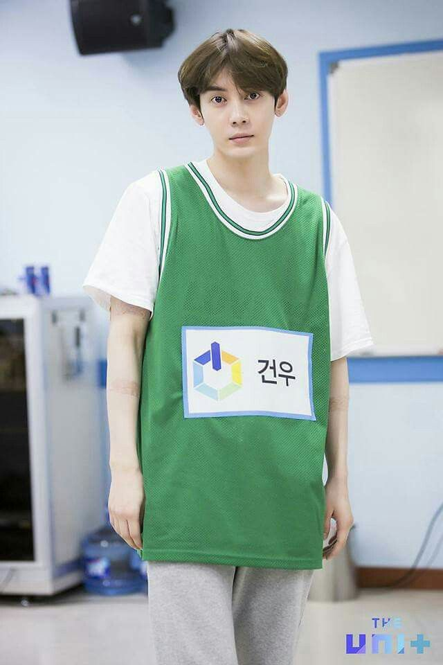 The Unit Idol Reboot Gunwoo Chaejin Was Already Eliminated From Theunit They Doing Hardwork Their Best To Make It In Competition M Music Idol Kpop Groups