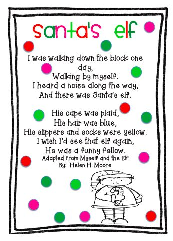 M e r r y C h r i s t m a s I have posted three FREE poems for Christmas on my first grade blog .