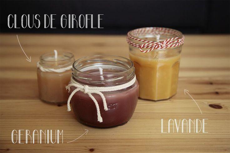 Bougies + Liste des huiles essentielles non inflammables