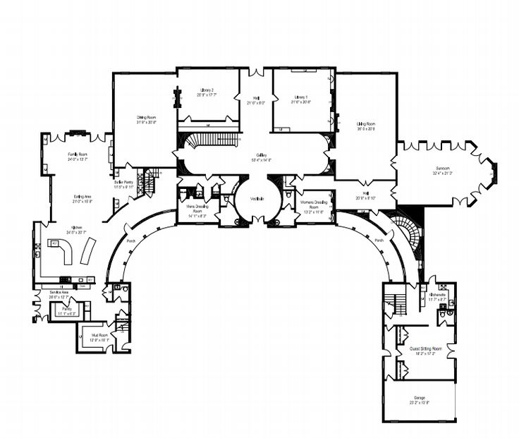 Mega Mansion House Plans $18 million 29,000 square foot historic lakefront mega mansion in
