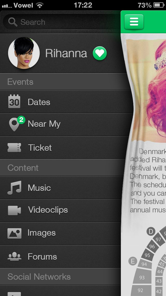 #menu  #flyin  #ios