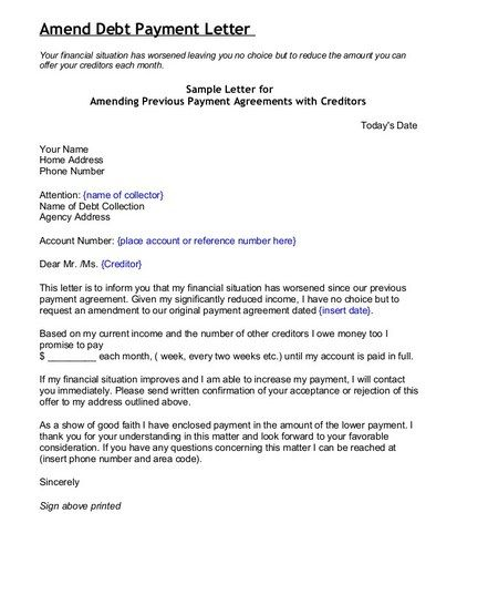 Sample Cover Letter For Credit And Collections