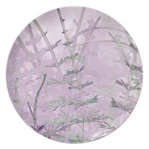 Horsetail Grass/Stems Party Plates