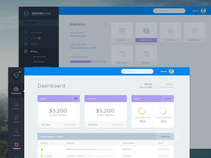 19 best Flat Admin Design images on Pinterest Flat design - invoice web app