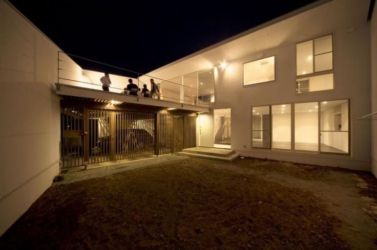 Kochi Architect's Studio, in Kanagawa, Japan  [출처] [주택디자인] 사선절개가 특이한 프라이버시에 좋은 일본주택_House kn|작성자 인트로SI