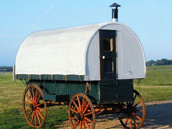 Sheep Camp Wagon Canvas Cover Wagon Vardo Camping Planning
