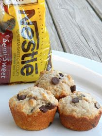 bella: Perfect Morning Muffins: Whole wheat chocolate chip