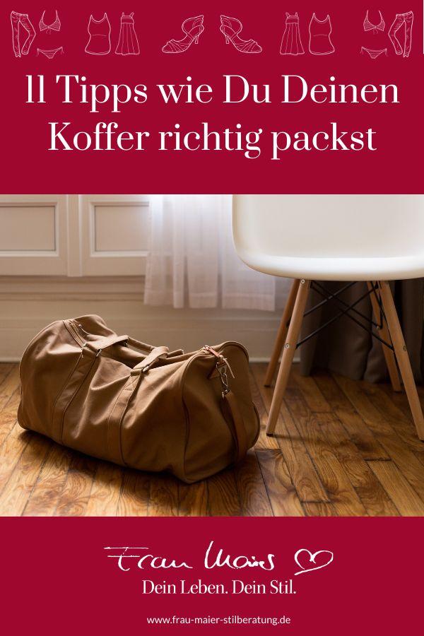 Tipps Koffer Packen