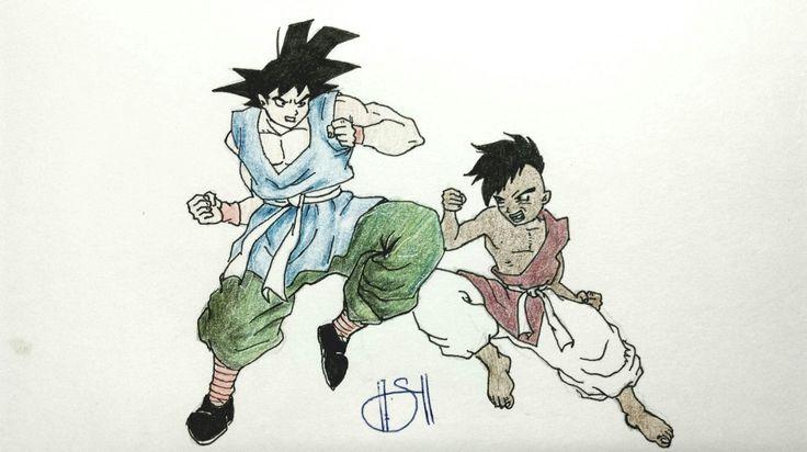 Son Goku v Oob (DBZ)