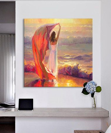 Look what I found on #zulily! Steve Henderson Ocean Breeze Wrapped Canvas #zulilyfinds