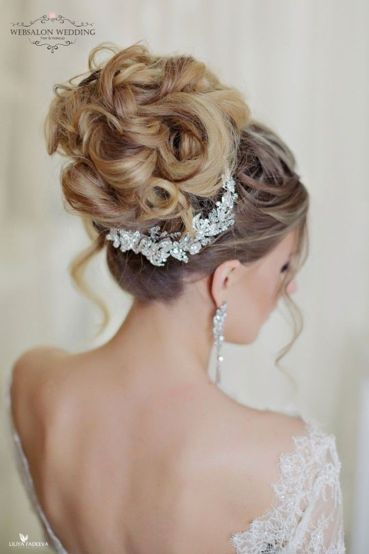 642 best Wedding  and Bridal  Hair images on Pinterest