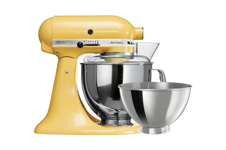 Kitchenaid artisan stand mixer majestic yellow harvey