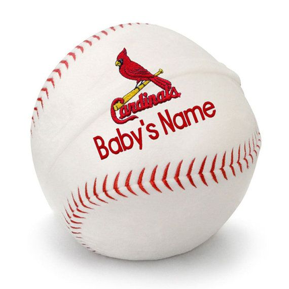 8 best personalized baby gifts for st louis cardinals fans images personalized baby st louis cardinals plush baseball negle Gallery