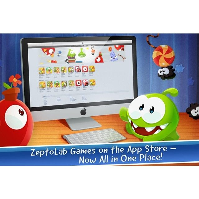 Zeptolab Games on the App Store - all in our place! http://appstore.com/zeptolab #cuttherope #cuttherope2 #omnom #cute #green #little #monster #love #yummy #candy #sweets #playing #play #new #mobile #family #game #games #phone #fun #happy #funny #nommies #smile #nice #love #iphone #ipod #ipad #app #application #puzzle