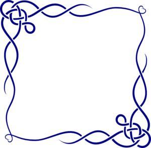 Leafless Vine Frame Clip Art | Bingkai, Desain, Desain brosur