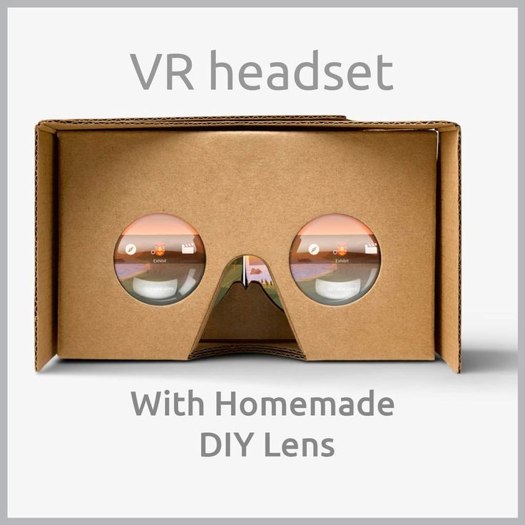 This tutorial shows you to make a DIY Google Cardboard based VR Headset with a custom lens that you can make at home in under 30 minutes.
