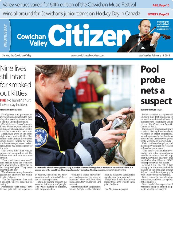 Citizen Front Page Feb. 13, 2013