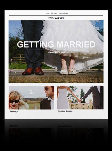 Free Wedding Website Templates | Create a wedding website - IM Creator